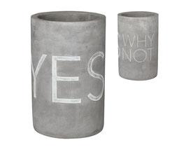 """Weinkühler """"YES Why not"""". Von Räder."""