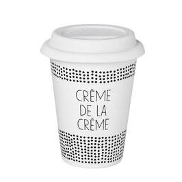 """Thermobecher """"Crème de la Crème"""". Von Räder."""