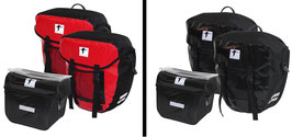 2x Red Loon Packtasche + Lenkertasche