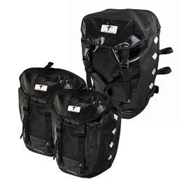 Red Loon Pro 3er Set Packtasche 2 Hecktaschen 1 Rucksack