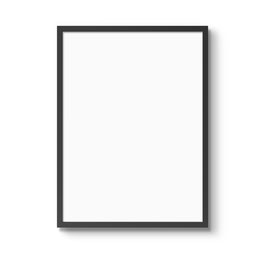 Zwarte lijst - 30 x 40 cm