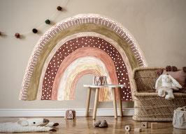 Regenboog Roze/Bruin tinten