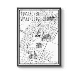 Poster Bunschoten-Spakenburg