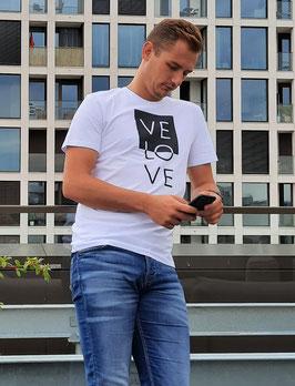 T-Shirt 'VELOVE' div. Farben unisex