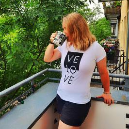 Girly-Shirt 'VELOVE'