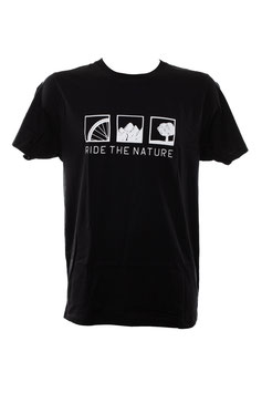 T-shirt Ride The Nature unisex verschd. Farben