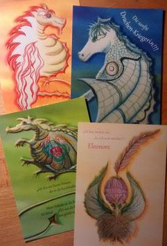Postkarten | Drachen & Fabelwesen