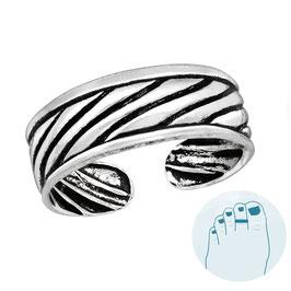 Silver Toe Ring Jenny