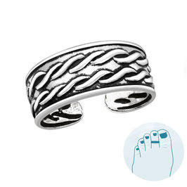 Silver Toe Ring Lize