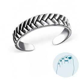 Silver Toe Ring Aleida