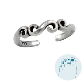 Silver Toe Ring Kirby