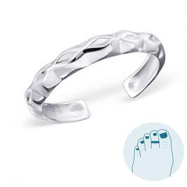 Silver Toe Ring Genesis
