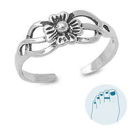 Silver Toe Ring Florine