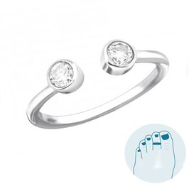 Silver Toe Ring Sanaz