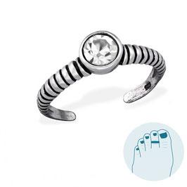Silver Toe Ring Ynez