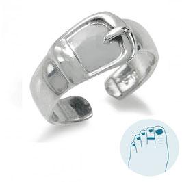 Silver Toe Ring Big Belt