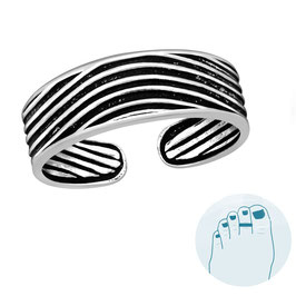 Silver Toe Ring Lotte