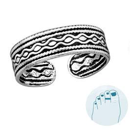 Silver Toe Ring Marleen