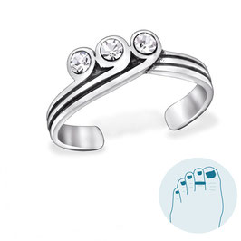 Silver Toe Ring Liv
