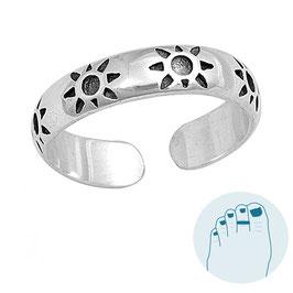 Silver Toe Ring Sunny