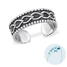 Silver Toe Ring  Rufina