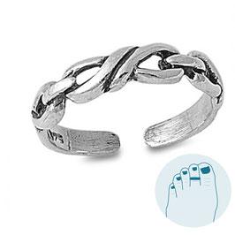 Silver Toe Ring Josh