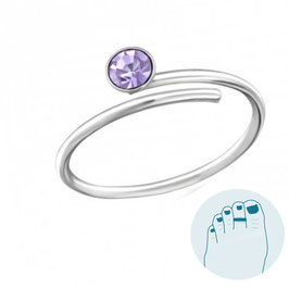 Silver Toe Ring Mischa