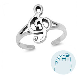 Silver Toe Ring Music