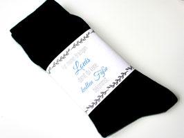Hochzeitssocken für den Bräutigam gegen kalte Füße mit Namen Bräutigamgeschenk Blau