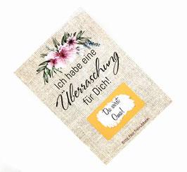 Rubbelkarte Trauzeugin Schwangerschaft du wirst Oma du wirst Tante selbst beschriften Überraschungskarte