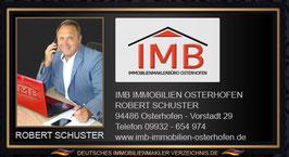 ROBERT SCHUSTER IMMOBILIENMAKLER OSTERHOFEN MAKLEREMPFEHLUNG