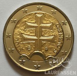 2 euro Slowakije 2015 UNC 'Wapen van Slowakije'