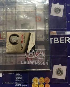 Hartberger S-3x2 bladen voor coincards of blisters (5 stuks)