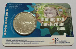 5 euro Nederland 2017 UNC 'Stelling van Amsterdam Vijfje' in coincard