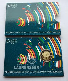 2 euro Portugal 2007 Proof 'Voorzitterschap EU' in blister