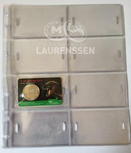 Hartberger GM 8 standaard bladen voor coincards