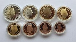 Jaarset Luxemburg 2015 Proof (1 cent - 2 euro) in capsules