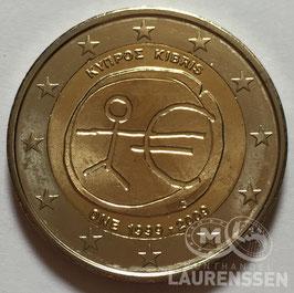 2 euro Cyprus 2009 UNC '10 jaar EMU'