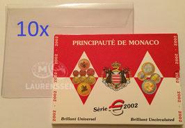 10x hoesje voor het opbergen BU set Monaco