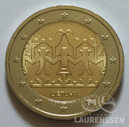 2 euro Litouwen 2018 UNC 'Zang- en dans festival 2018'
