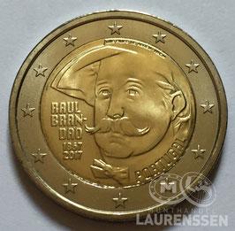 2 euro Portugal 2017 UNC 'Raul Brandao'
