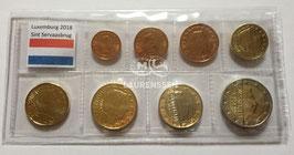 BU set Luxemburg 2018 (1 cent - 2 euro) met Sint Servaasbrug