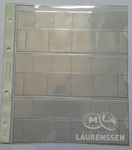 Lindner muntblad voor 3 series euromunten