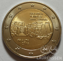 2 euro Malta 2016 UNC 'Ggantija Tempels'