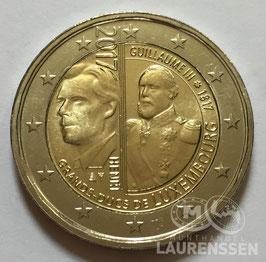 2 euro Luxemburg 2017 UNC 'Groothertog Willem III'