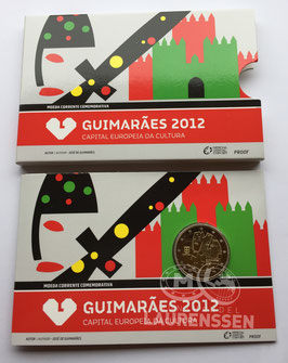 2 euro Portugal 2012 Proof 'Guimaraes' in blister