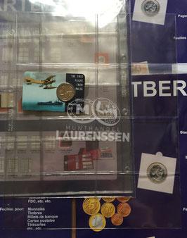 Hartberger S-4x2 bladen voor coincards of telefoonkaarten (5 stuks)