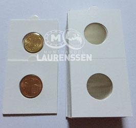 Hartberger munthouders 22,5 mm voor 5 en 10 eurocent