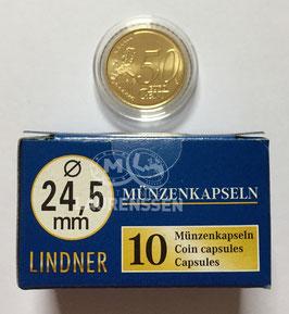 Lindner capsules voor 50 eurocent (24,5 mm)