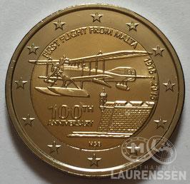 2 euro Malta 2015 UNC 'Vlucht vanaf Malta'